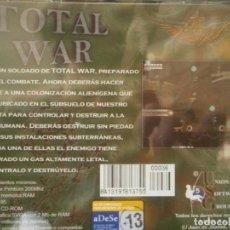 Videojuegos y Consolas: JUEGO DE PC RETRO (AÚN PLASTIFICADO) TOTAL WAR. Lote 221627423