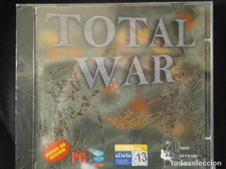 Videojuegos y Consolas: JUEGO DE PC RETRO (AÚN PLASTIFICADO) TOTAL WAR - Foto 2 - 221627423