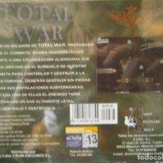 Videojuegos y Consolas: JUEGO DE PC RETRO (AÚN PLASTIFICADO) TOTAL WAR. Lote 221627428
