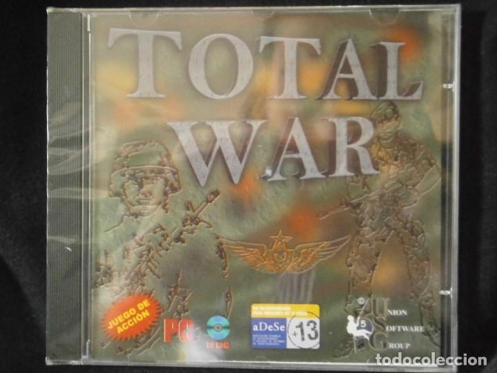 Videojuegos y Consolas: JUEGO DE PC RETRO (AÚN PLASTIFICADO) TOTAL WAR - Foto 2 - 221627428