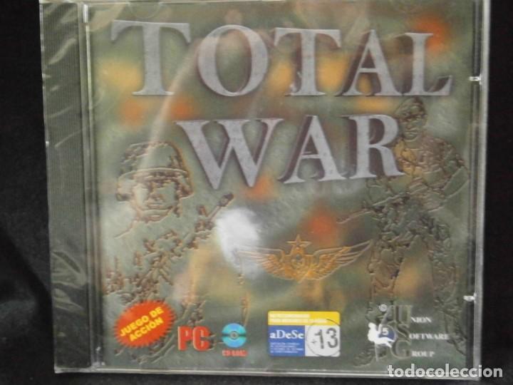Videojuegos y Consolas: JUEGO DE PC RETRO (AÚN PLASTIFICADO) TOTAL WAR - Foto 2 - 221627432