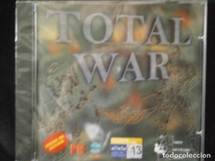 Videojuegos y Consolas: JUEGO DE PC RETRO (AÚN PLASTIFICADO) TOTAL WAR - Foto 2 - 221627436