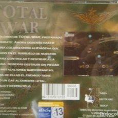 Videojuegos y Consolas: JUEGO DE PC RETRO (AÚN PLASTIFICADO) TOTAL WAR. Lote 221627440