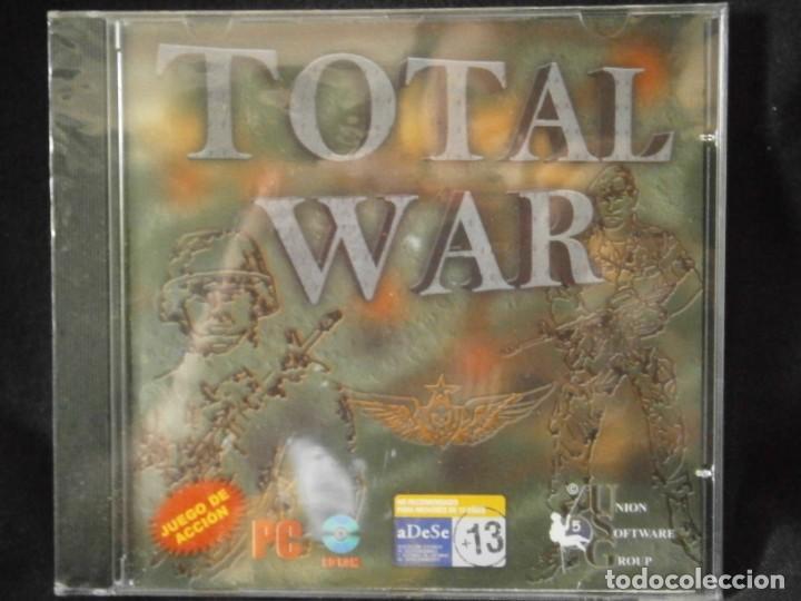 Videojuegos y Consolas: JUEGO DE PC RETRO (AÚN PLASTIFICADO) TOTAL WAR - Foto 2 - 221627440