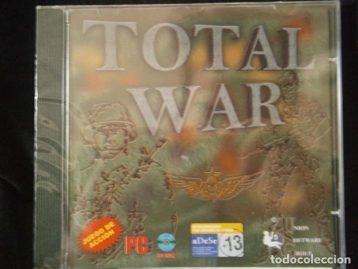 JUEGO DE PC RETRO (AÚN PLASTIFICADO) TOTAL WAR (Juguetes - Videojuegos y Consolas - PC)