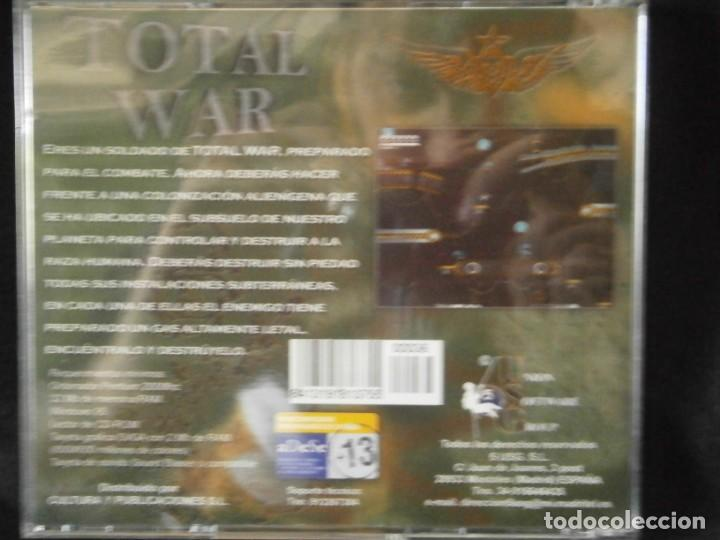 Videojuegos y Consolas: JUEGO DE PC RETRO (AÚN PLASTIFICADO) TOTAL WAR - Foto 2 - 221627442