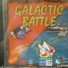 Videojuegos y Consolas: JUEGO DE PC RETRO (AÚN PLASTIFICADO) GALACTIC BATTLE. Lote 221627471