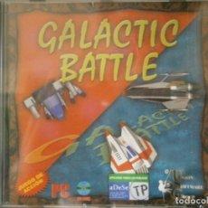 Videojuegos y Consolas: JUEGO DE PC RETRO (AÚN PLASTIFICADO) GALACTIC BATTLE. Lote 221627473