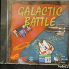 Videojuegos y Consolas: JUEGO DE PC RETRO (AÚN PLASTIFICADO) GALACTIC BATTLE. Lote 221627475
