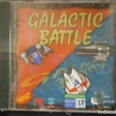 Videojuegos y Consolas: JUEGO DE PC RETRO (AÚN PLASTIFICADO) GALACTIC BATTLE. Lote 221627485