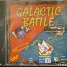 Videojuegos y Consolas: JUEGO DE PC RETRO (AÚN PLASTIFICADO) GALACTIC BATTLE. Lote 221627486