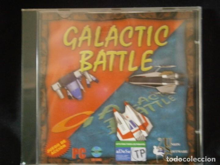 JUEGO DE PC RETRO (AÚN PLASTIFICADO) GALACTIC BATTLE (Juguetes - Videojuegos y Consolas - PC)
