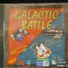 Videojuegos y Consolas: JUEGO DE PC RETRO (AÚN PLASTIFICADO) GALACTIC BATTLE. Lote 221627492