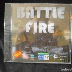 Videojuegos y Consolas: JUEGO DE PC RETRO (AÚN PLASTIFICADO) BATTLE FIRE. Lote 221645832