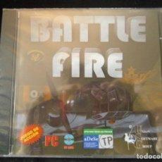 Videojuegos y Consolas: JUEGO DE PC RETRO (AÚN PLASTIFICADO) BATTLE FIRE. Lote 221645861