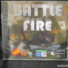 Videojuegos y Consolas: JUEGO DE PC RETRO (AÚN PLASTIFICADO) BATTLE FIRE. Lote 221645902