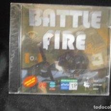 Videojuegos y Consolas: JUEGO DE PC RETRO (AÚN PLASTIFICADO) BATTLE FIRE. Lote 221645938