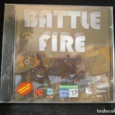 Videojuegos y Consolas: JUEGO DE PC RETRO (AÚN PLASTIFICADO) BATTLE FIRE. Lote 221645988