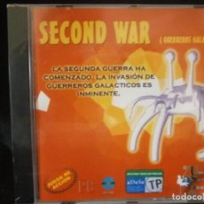 Videojuegos y Consolas: JUEGO DE PC RETRO (AÚN PLASTIFICADO) SECOND WAR ( GUERREROS GALACTICOS). Lote 221646653