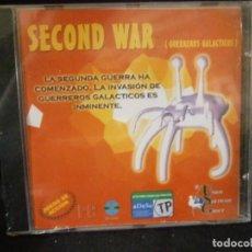 Videojuegos y Consolas: JUEGO DE PC RETRO (AÚN PLASTIFICADO) SECOND WAR ( GUERREROS GALACTICOS). Lote 221646675