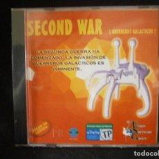 Videojuegos y Consolas: JUEGO DE PC RETRO (AÚN PLASTIFICADO) SECOND WAR ( GUERREROS GALACTICOS). Lote 221646726