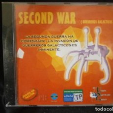 Videojuegos y Consolas: JUEGO DE PC RETRO (AÚN PLASTIFICADO) SECOND WAR ( GUERREROS GALACTICOS). Lote 221646756
