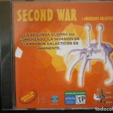 Videojuegos y Consolas: JUEGO DE PC RETRO (AÚN PLASTIFICADO) SECOND WAR ( GUERREROS GALACTICOS). Lote 221646822