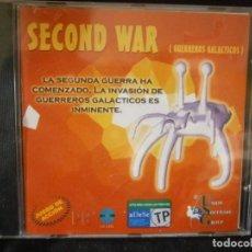 Videojuegos y Consolas: JUEGO DE PC RETRO (AÚN PLASTIFICADO) SECOND WAR ( GUERREROS GALACTICOS). Lote 221646865