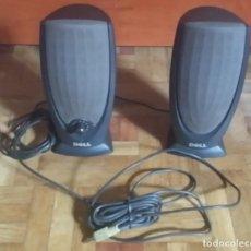 Videojuegos y Consolas: PAREJA DE ALTAVOCES DELL A215 NEGRO PARA ORDENADOR. Lote 221662812