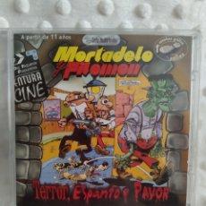 Videojuegos y Consolas: MORTADELO Y FILEMON - TERROR, ESPANTO Y PAVOR - ZETA - JUEGO PC. Lote 221665102