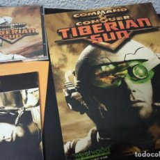 Jeux Vidéo et Consoles: COMMAND AND CONQUER - TIBERIAN SUN, PC, WESTWOOD, 1999. 2 CDS, MANUAL, CAJA Y CATÁLOGO E.A.. Lote 221722248