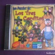 Videojuegos y Consolas: LOS PUZZLES DE LOS 3 CERDITOS -VIDEOJUEGO PRECINTADO JUEGO INFANTIL DIDACTICO - UNION SOFTWARE GROUP. Lote 221738797