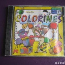 Videojuegos y Consolas: COLORINES 6 AMARILLO - PC CD ROM - VIDEOJUEGO PRECINTADO JUEGO INFANTIL DIDACTICO - USG. Lote 221738830