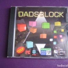 Videojuegos y Consolas: VIDEOJUEGO - DADSBLOCK - PC CD ROM NUEVO - UNION SOFTWARE GROUP - USG - TIPO TETRIS. Lote 221738850