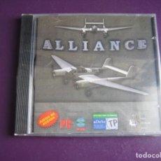 Videojuegos y Consolas: VIDEOJUEGO PC CD ROM - ALLIANCE - PRECINTADO - UNION SOFTWARE GROUP - USG - COMBATE AEREO. Lote 221738921