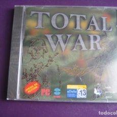 Videojuegos y Consolas: VIDEOJUEGO TOTAL WAR PC CD ROM PRECINTADO - UNION SOFTWARE GROUP - USG - GUERRA COMBATE. Lote 221738956