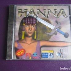 Videojuegos y Consolas: HANNA - PC CD ROM PRECINTADO - UNION SOFTWARE GROUP. Lote 221739076