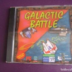 Videojuegos y Consolas: VIDEOJUEGO GALACTIC BATTLE PC CD ROM PRECINTADO - UNION SOFTWARE GROUP USG. Lote 221739085