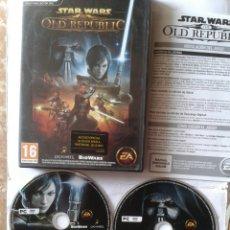 Videojuegos y Consolas: STAR WARS - THE OLD REPUBLIC - PC. Lote 221798423