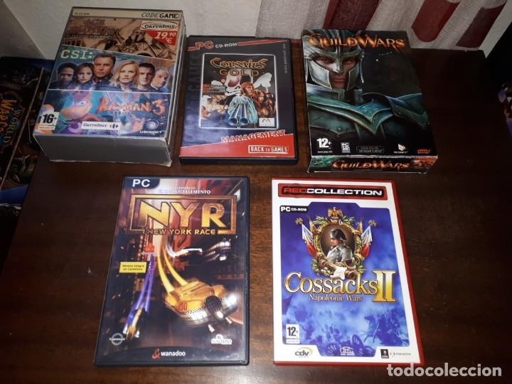 72-LOTE DE JUEGOS PC (Juguetes - Videojuegos y Consolas - PC)