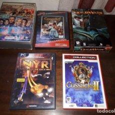 Videojuegos y Consolas: 72-LOTE DE JUEGOS PC. Lote 221897267