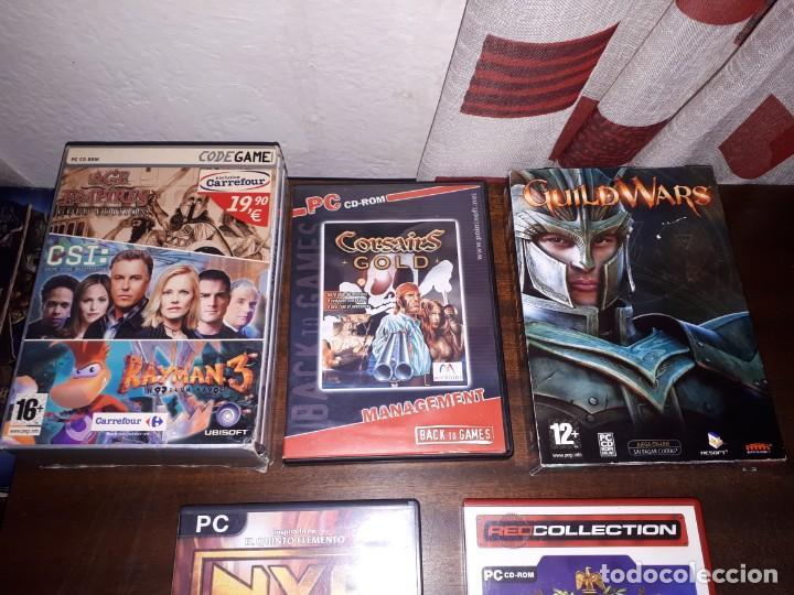 Videojuegos y Consolas: 72-LOTE DE JUEGOS PC - Foto 2 - 221897267