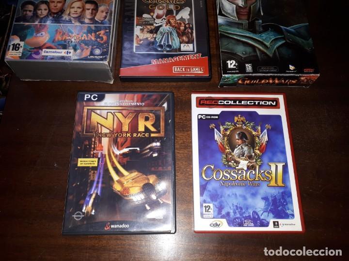Videojuegos y Consolas: 72-LOTE DE JUEGOS PC - Foto 3 - 221897267