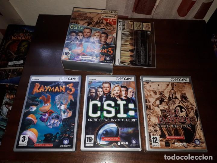 Videojuegos y Consolas: 72-LOTE DE JUEGOS PC - Foto 15 - 221897267