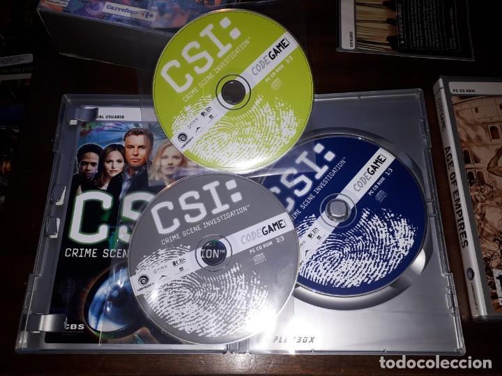Videojuegos y Consolas: 72-LOTE DE JUEGOS PC - Foto 17 - 221897267