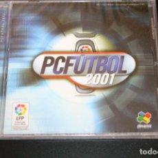 Jeux Vidéo et Consoles: PCFUTBOL 2001 - DINAMIC MULTIMEDIA. Lote 222061411