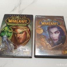 Videojuegos y Consolas: JUEGOS WORLD WARCRAFT PC. Lote 222275128
