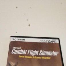Videogiochi e Consoli: G-47 PC CD ROM COMBAT FLIGHT SIMULATOR SERIE EUROPA II GUERRA MUNDIAL. Lote 222580856