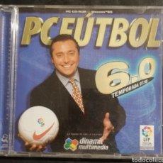 Videojuegos y Consolas: PC FÚTBOL 6.0. Lote 222812507