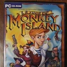 Videojuegos y Consolas: LA FUGA DE MONKEY ISLAND PC (CASTELLANO). Lote 223132993